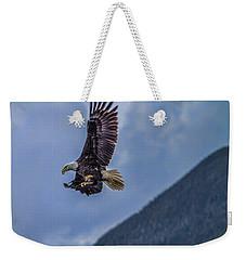 In Flight Lunch Weekender Tote Bag