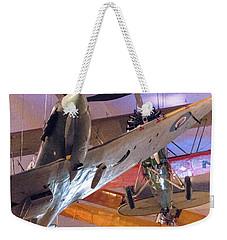 In Flight Weekender Tote Bag