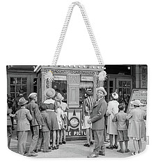 In Front Of A Movie Theater, Chicago, Illinois Weekender Tote Bag