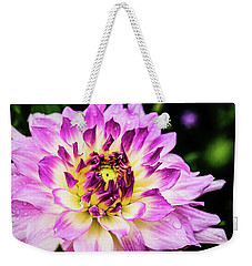 Weekender Tote Bag featuring the photograph In Full Regalia by Jessica Manelis