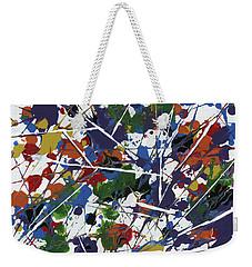 In Glittering Rainbow Shards Weekender Tote Bag