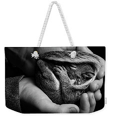 In Good Hands Weekender Tote Bag