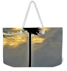 Weekender Tote Bag featuring the photograph In Heaven's Light by Maria Urso