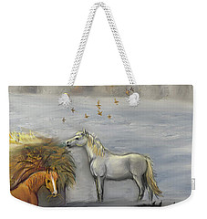 In Honor Of Greyboy Weekender Tote Bag