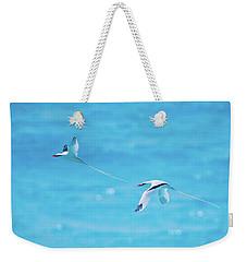 In-line Formation Flying Weekender Tote Bag
