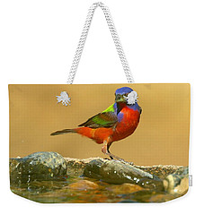 In Living Color Weekender Tote Bag