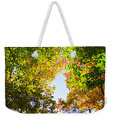Weekender Tote Bag featuring the photograph In Many Colors by Parker Cunningham
