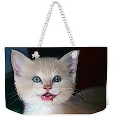 In Memoriam Baby Gussy Weekender Tote Bag