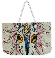 In Memory Of The Long Lost Unicorn Weekender Tote Bag