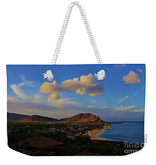In Morning Light Ma'ili Hawaii Weekender Tote Bag by Craig Wood