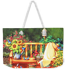In My Garden Weekender Tote Bag