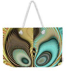 Weekender Tote Bag featuring the digital art In My Head by Wendy J St Christopher