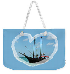 In My Heart Weekender Tote Bag by David and Lynn Keller