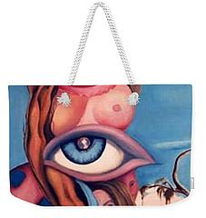 In My World Weekender Tote Bag