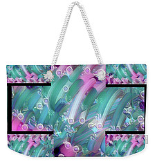 In Need Abstract  Weekender Tote Bag by Gayle Price Thomas