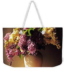 In Purple Weekender Tote Bag