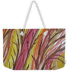 In Rushes Fall Weekender Tote Bag by Sharyn Winters