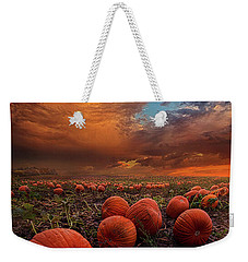 In Search Of The Great Pumpkin Weekender Tote Bag by Phil Koch