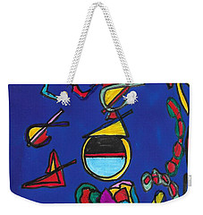 In Search Of Trilateration Weekender Tote Bag