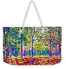 In Spite Off The Trees Weekender Tote Bag