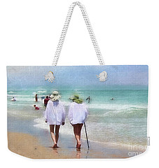 In Step With Life Weekender Tote Bag
