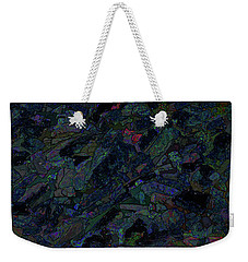 Weekender Tote Bag featuring the photograph In The Abstract by Lewis Mann