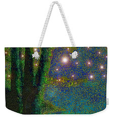 In The Beginning God... Weekender Tote Bag