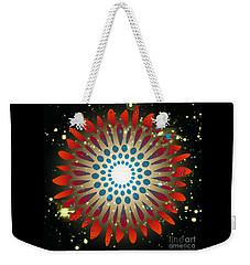 In The Beginning Weekender Tote Bag by Leanne Seymour