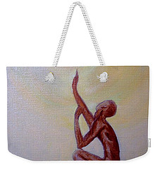 In The Beginning Weekender Tote Bag by Marlene Book