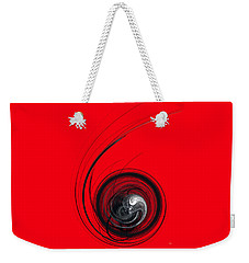 In The Beginning Weekender Tote Bag by Menega Sabidussi