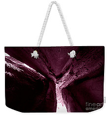 In The Belly Of A Two Headed Giant Weekender Tote Bag