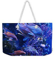 In The Blue Weekender Tote Bag