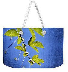 In The Blue Weekender Tote Bag by Carolyn Marshall