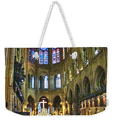 In The Cathedral Weekender Tote Bag