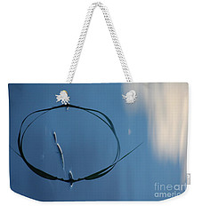 Weekender Tote Bag featuring the photograph In The Cloud by Brian Boyle