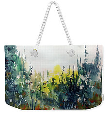 In The Colourful Woods Weekender Tote Bag