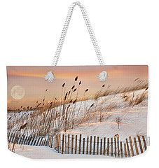 Weekender Tote Bag featuring the photograph In The Dunes by Robin-lee Vieira
