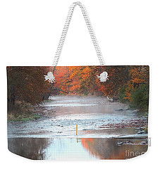 In The Early Morning Mist Weekender Tote Bag
