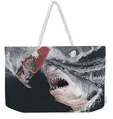 In The Face Of Fear Weekender Tote Bag