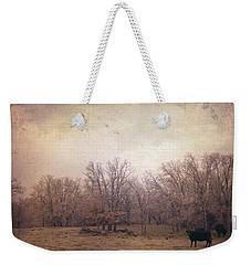 In The Field Weekender Tote Bag