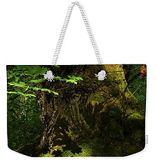 Weekender Tote Bag featuring the digital art In The Forest by I'ina Van Lawick