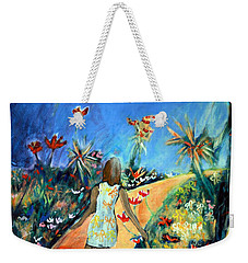 In The Garden Of Joy Weekender Tote Bag by Winsome Gunning