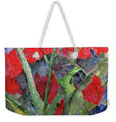 In The Garden Weekender Tote Bag by Sandy McIntire