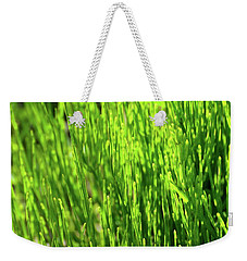 Weekender Tote Bag featuring the photograph In The Green by Lyle Crump