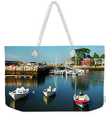 In The Harbor Weekender Tote Bag