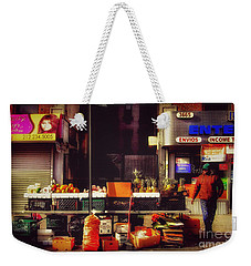 Weekender Tote Bag featuring the photograph In The Heights by Miriam Danar