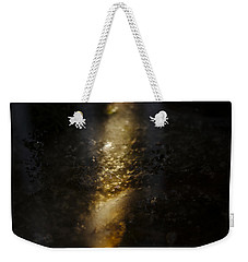 Weekender Tote Bag featuring the photograph In The Light by Cendrine Marrouat