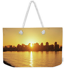 In The Middle Weekender Tote Bag by Joseph S Giacalone