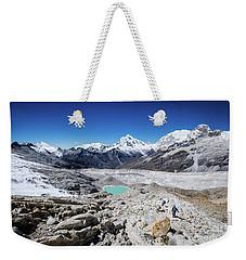 In The Middle Of The Cordillera Blanca Weekender Tote Bag
