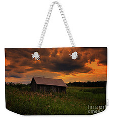In The Midst Of Sunset Weekender Tote Bag